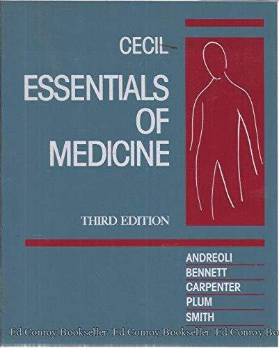 9780721632728: Cecil Essentials of Medicine, 3e (Cecil Medicine)