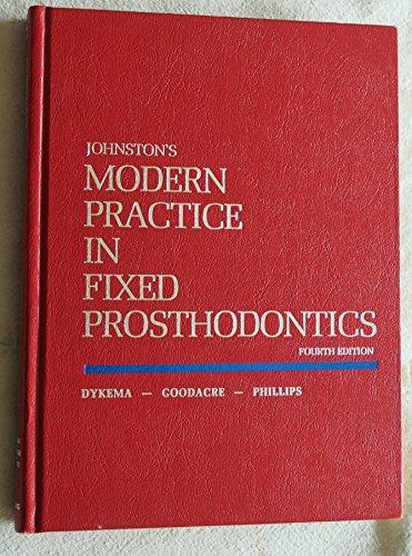 9780721632964: Johnston's Modern Practice in Fixed Prosthodontics
