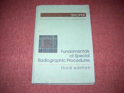 9780721634418: Fundamentals of Special Radiographic Procedures