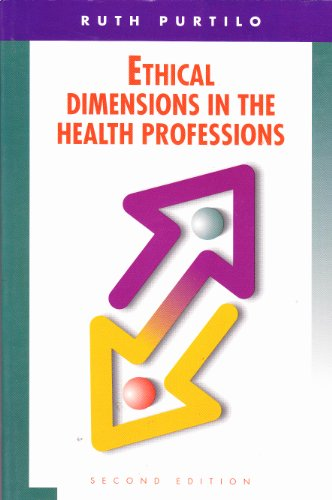 9780721635507: Ethical Dimensions in the Health Professions