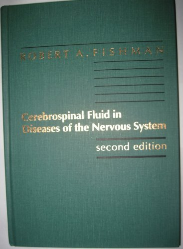 9780721635576: Cerebrospinal Fluid in Diseases of the Nervous System, 2e