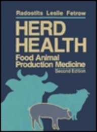 9780721636559: Herd Health: Food Animal Production Medicine
