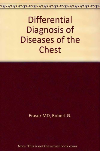 9780721636788: Differential Diagnosis of Diseases of the Chest