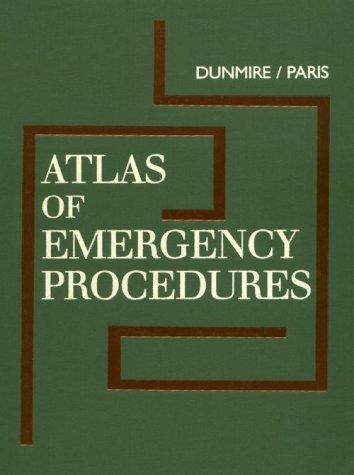 9780721636825: Atlas of Emergency Procedures