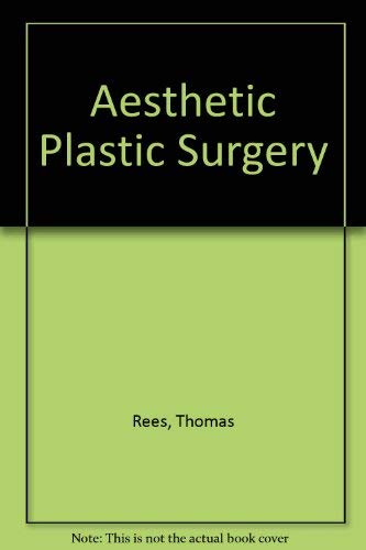 9780721637143: Aesthetic plastic surgery
