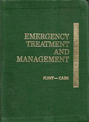 9780721637280: Emergency Treatment and Management