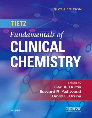 9780721638652: Tietz Fundamentals of Clinical Chemistry, 6e (Fundamentals of Clinical Chemistry (Tietz))