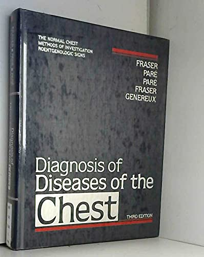 9780721638706: Diagnosis of Diseases of the Chest Volume 1: v. 1