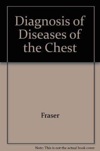 9780721638744: Diagnosis of diseases of the chest