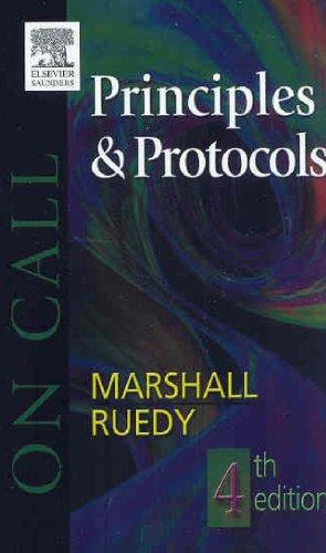 9780721639024: On Call Principles and Protocols