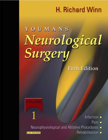 9780721639314: Youmans Neurological Surgery Fifth Edition, Online Electronic edition; PIN Code and User Guide to Continually Updated Online Reference