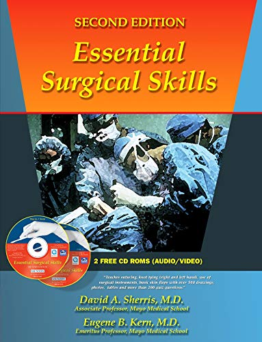 9780721639505: Essential Surgical Skills with CD-ROM, 2e