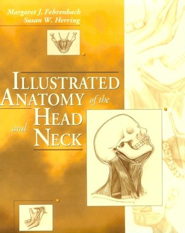 9780721640822: Illustrated Anatomy of the Head and Neck
