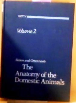 9780721641072: 002: Sisson and Grossman's: The Anatomy of the Domestic Animals, Vol. 2