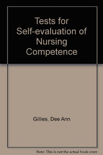 9780721641317: Tests for Self-evaluation of Nursing Competence