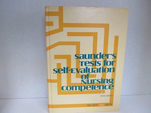9780721641324: Tests for Self-evaluation of Nursing Competence