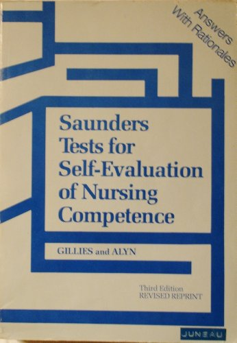9780721641577: Tests for Self Evaluation of Nursing Competence