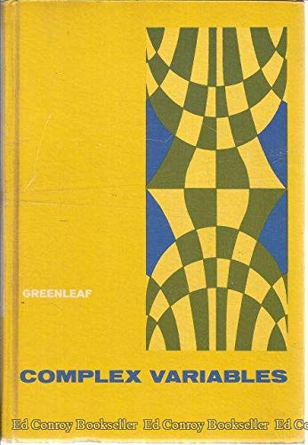 9780721642604: Introduction to Complex Variables