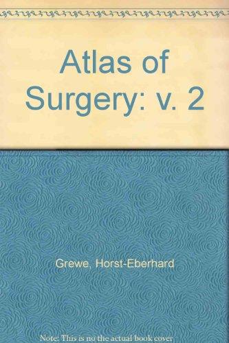 9780721642741: Atlas of Surgery: v. 2