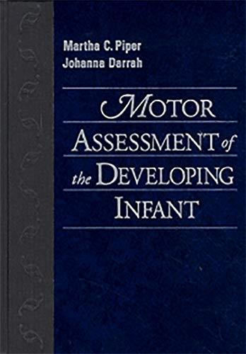 9780721643076: Motor Assessment of the Developing Infant, 1e