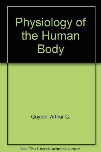 9780721643786: Physiology of the Human Body