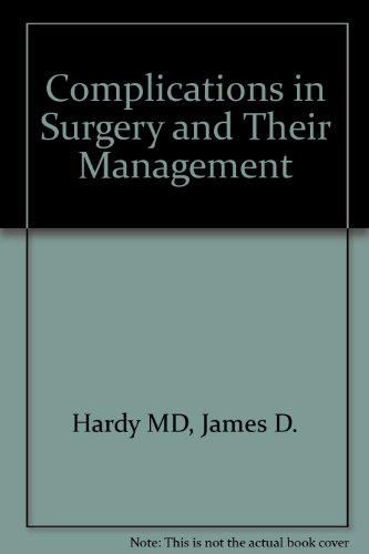 9780721645094: Complications in Surgery and Their Management