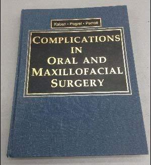 9780721648613: Complications in Oral and Maxillofacial Surgery, 1e