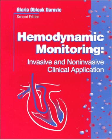 9780721649016: Hemodynamic Monitoring: Invasive and Noninvasive Clinical Application