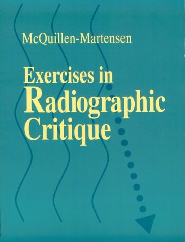 9780721649818: Exercises in Radiographic Critique, 1e