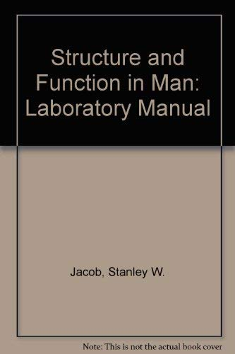 9780721651026: Structure and Function in Man: Laboratory Manual