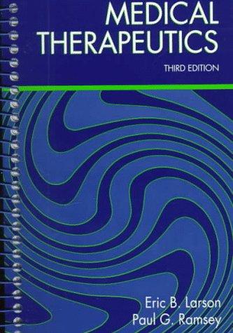 9780721651262: Medical Therapeutics, 3e