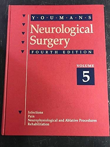 9780721651415: Neurological Surgery: A Comprehensive Reference Guide to the Diagnosis and Management of Neurosurgical Problems (5-Volume Set)