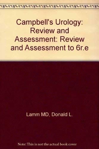 9780721651583: Campbell's Urology: Review and Assessment: Review and Assessment to 6r.e