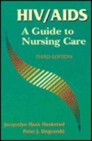 9780721652399: HIV/AIDS: A Guide to Nursing Care Third Edition