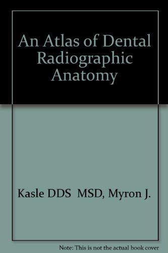 9780721652924: An Atlas of Dental Radiographic Anatomy