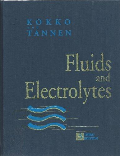 9780721653181: Fluids and Electrolytes, 3e