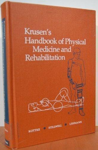 9780721655017: Krusen's Handbook of physical medicine and rehabilitation