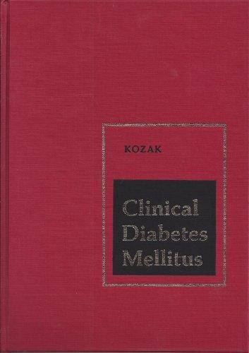 9780721655024: Clinical Diabetes Mellitus, 1e
