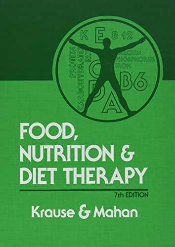 Food, Nutrition, and Diet Therapy: A Textbook: Marie V. Krause,