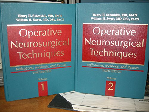 9780721655413: Operative Neurosurgical Techniques: Indications, Methods, and Results