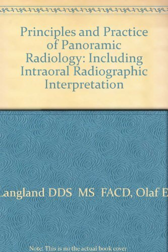 9780721656120: Principles and Practice of Panoramic Radiology: Including Intraoral Radiographic Interpretation