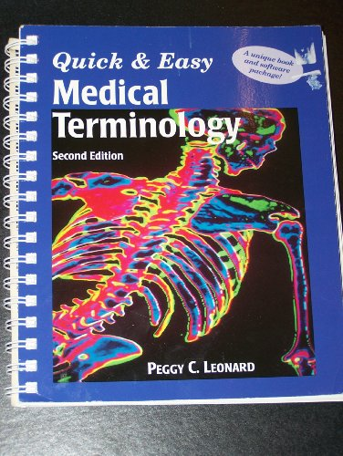 9780721656861: Quick & Easy Medical Terminology/Book and 2 Disks