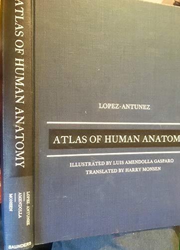 9780721657905: Atlas of Human Anatomy.