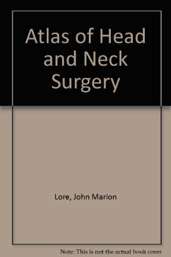 9780721657967: Atlas of Head and Neck Surgery