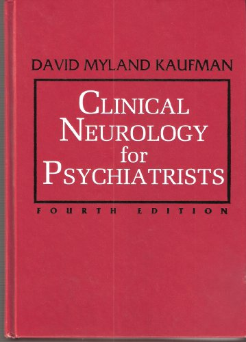 9780721658292: Clinical Neurology for Psychiatrists (Major Problems in Neurology)