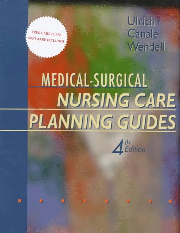 9780721660318: Medical-Surgical Nursing Care Planning Guides