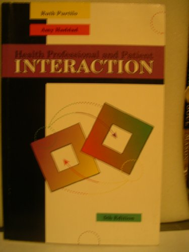 9780721660486: Health Professional and Patient Interaction