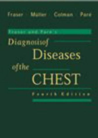 9780721661940: Fraser and Pare's Diagnosis of Diseases of the Chest (4 Volume set)