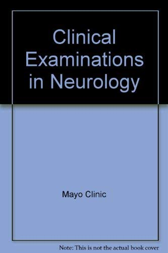 9780721662275: Clinical Examinations in Neurology