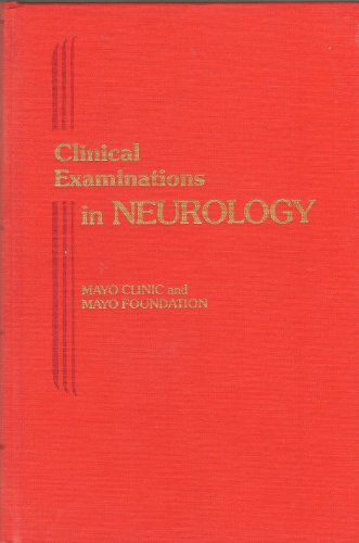 9780721662299: Clinical Examinations in Neurology